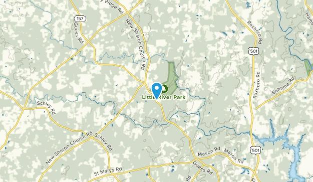 Fox Run, North Carolina Map