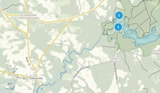 Gatesville, North Carolina Map