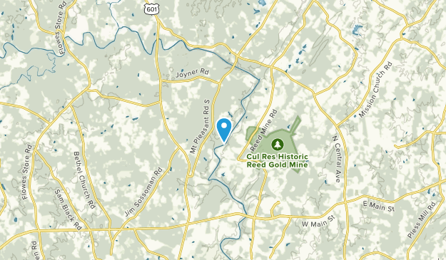 Georgeville, North Carolina Map