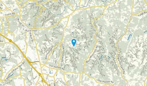 Germanton, North Carolina Map