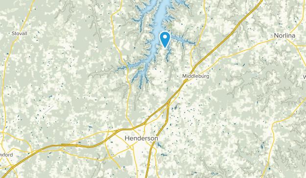 Henderson, North Carolina Map