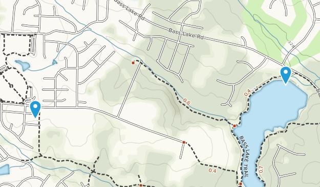 Holly Springs, North Carolina Map