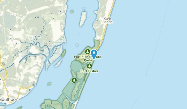 Kure Beach, North Carolina Map
