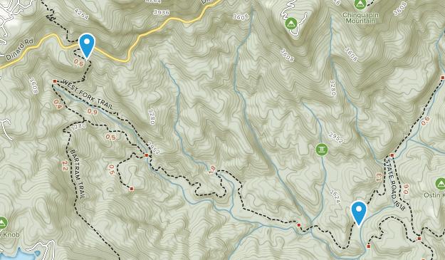 Lickskillet, North Carolina Map
