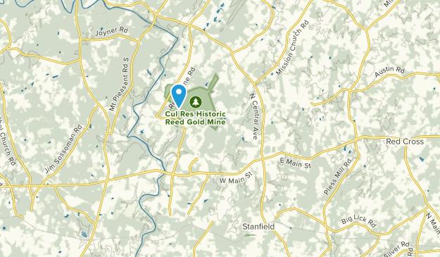 Locust, North Carolina Map