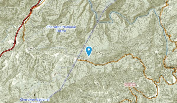 Lost Cove, North Carolina Map