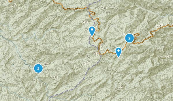McGuires, North Carolina Map