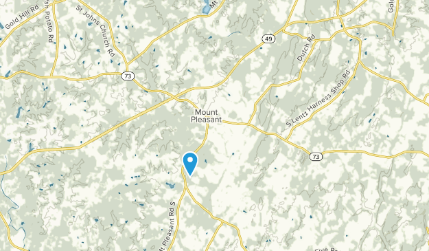 Mount Pleasant, North Carolina Map