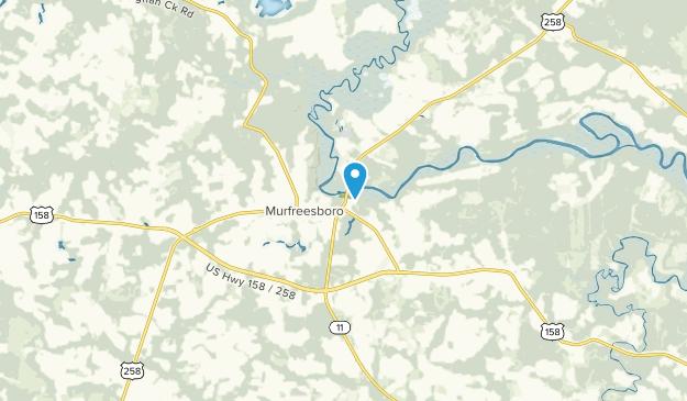 Murfreesboro, North Carolina Map