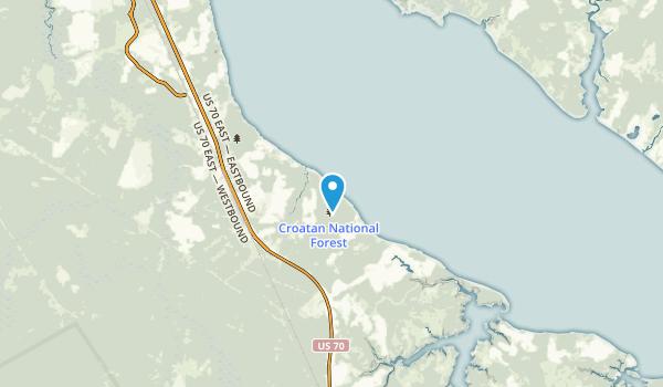 Neuse Forest, North Carolina Map