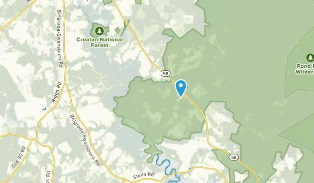 Pala Alto, North Carolina Map