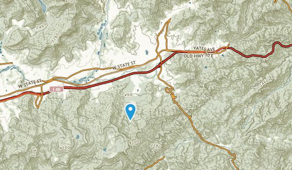 Ridgecrest, North Carolina Map