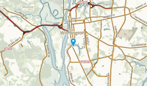 Riverfront Mobile Home Park, North Carolina Map