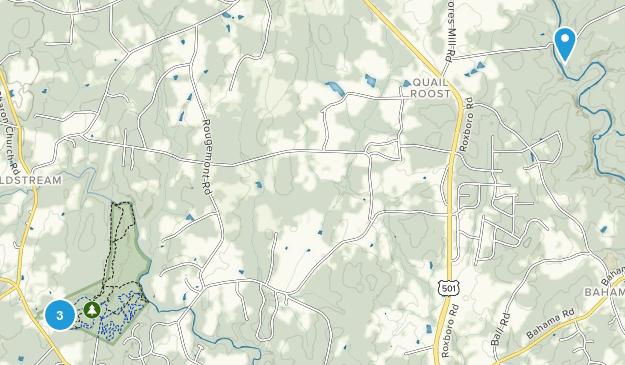 Rougemont, North Carolina Map