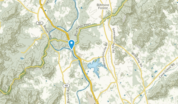 Skyland, North Carolina Map