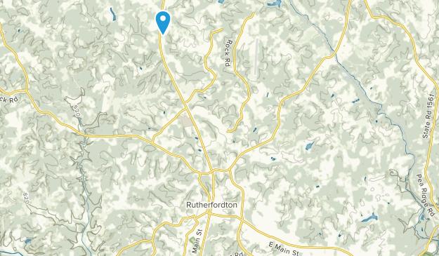 Spindale, North Carolina Map