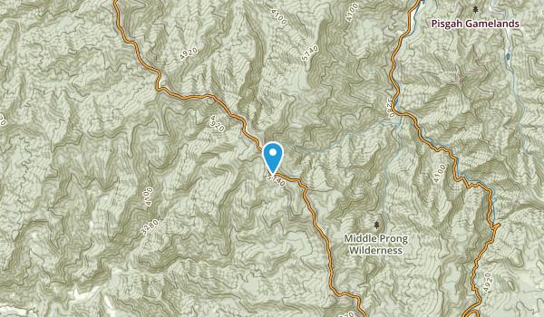 Tuckasegee, North Carolina Map