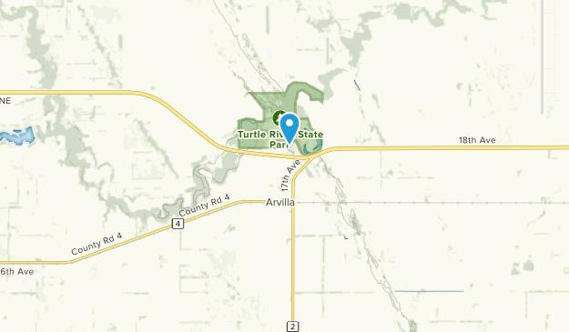 Arvilla, North Dakota Map
