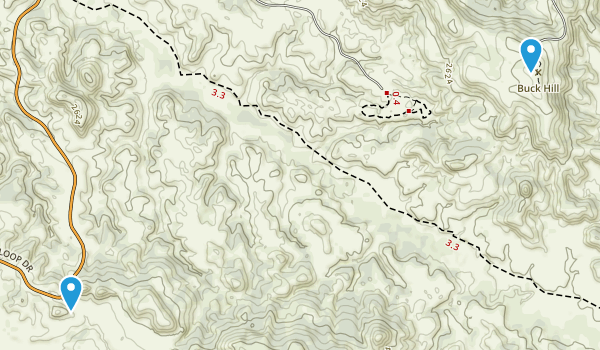 Sully Springs, North Dakota Map
