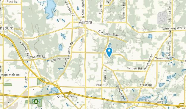 Aurora, Ohio Map