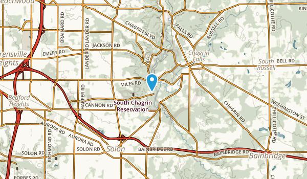 Bentleyville, Ohio Map