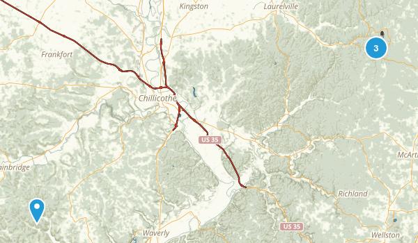 Benton, Ohio Map