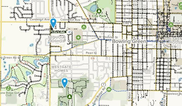 Bowling Green, Ohio Map
