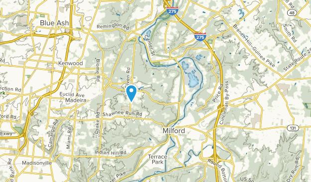 Camp Dennison, Ohio Map
