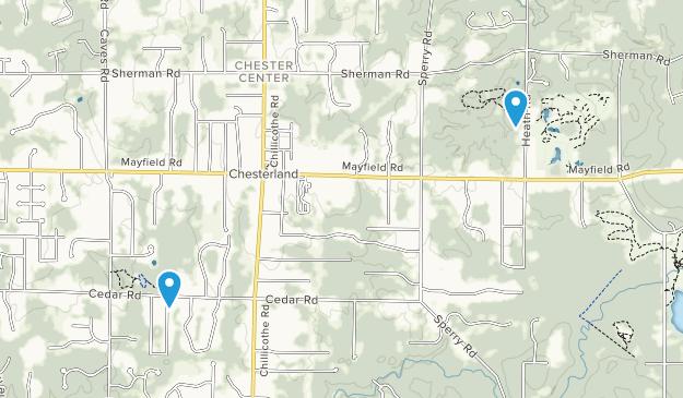 Chesterland, Ohio Map