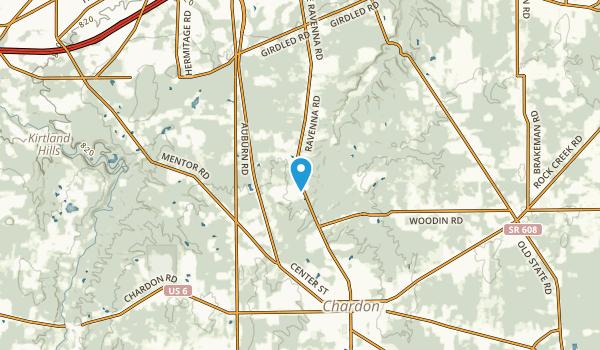 Clarks, Ohio Map