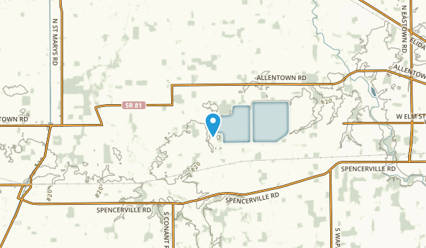 Conant, Ohio Map