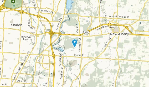 Gould Park, Ohio Map
