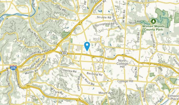 Groesbeck, Ohio Map