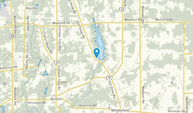 Huntsburg, Ohio Map