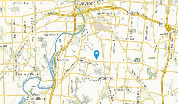 Kettering, Ohio Map