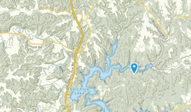 Kimbolton, Ohio Map