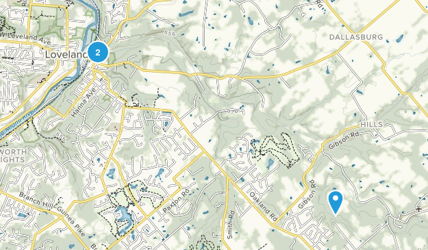 Loveland, Ohio Map