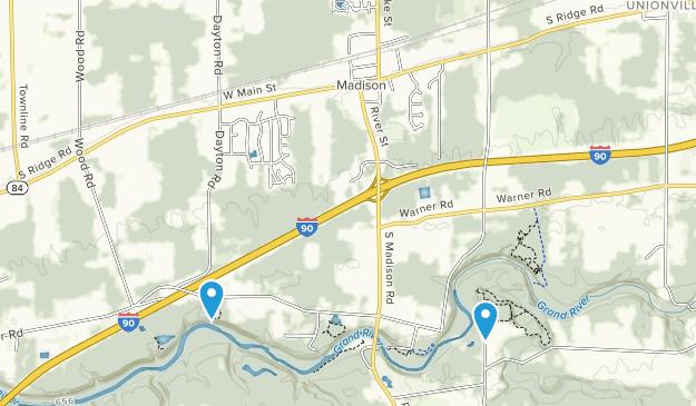 Madison, Ohio Map