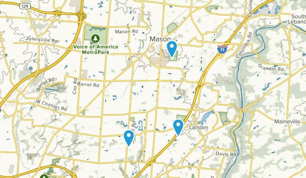 Mason, Ohio Map