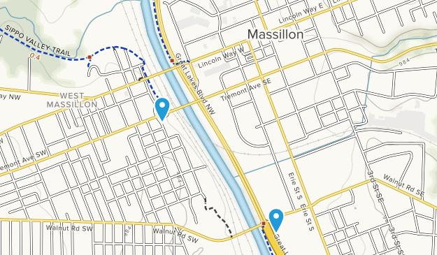 Massillon, Ohio Map