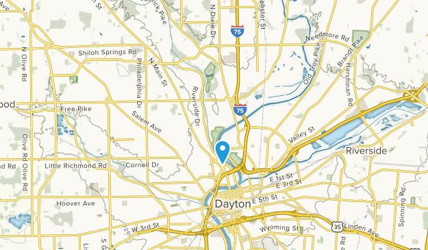 Northridge, Ohio Map