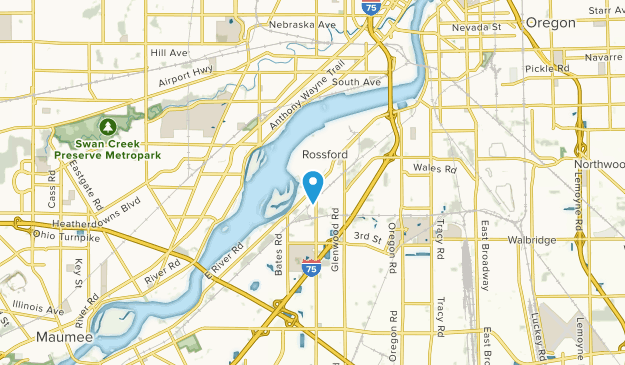 Rossford, Ohio Map