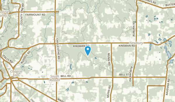 Russell, Ohio Map