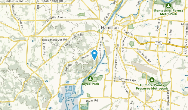 Sharon Park, Ohio Map