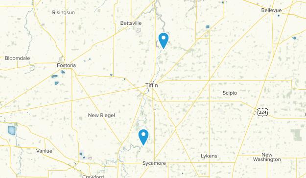 Tiffin, Ohio Map