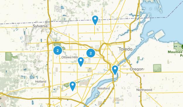 Toledo, Ohio Map