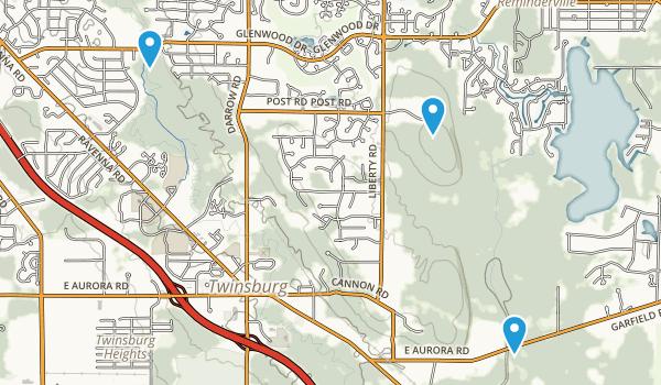 Twinsburg, Ohio Map