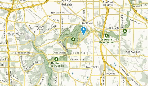 Walton Hills, Ohio Map
