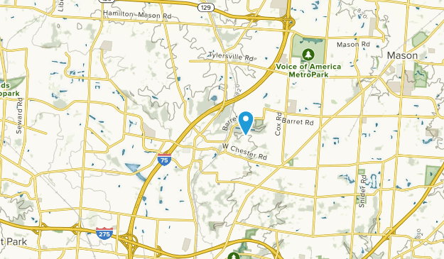 West Chester, Ohio Map