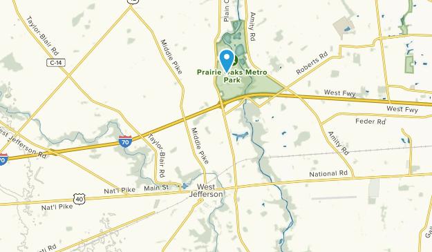 West Jefferson, Ohio Map